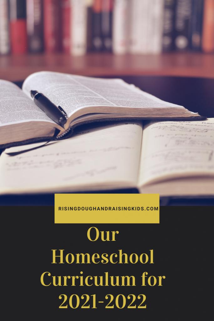 rising dough homeschool curriculum graphic